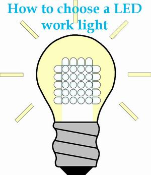 best LED work light
