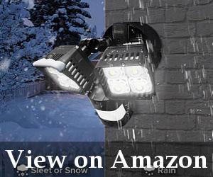 best outdoor motion sensor light reviews