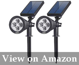 best solar powered lawn lights reviews