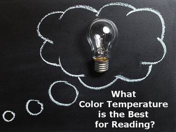 best light color for reading