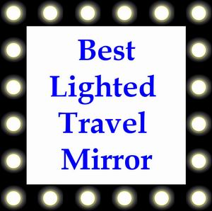 lighted travel mirror reviews