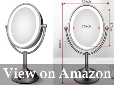 vanity mirror with lights cheap