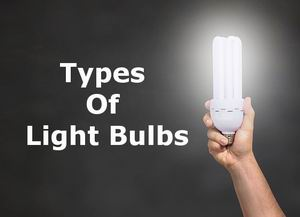 all types of light bulbs