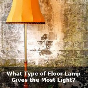 what type of floor lamp gives the healthiest light