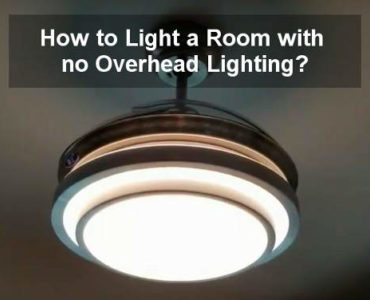 how to light a room with no overhead lighting