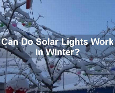 do solar lights work in winter