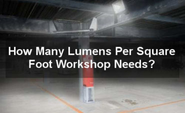 how many lumens per square foot workshop