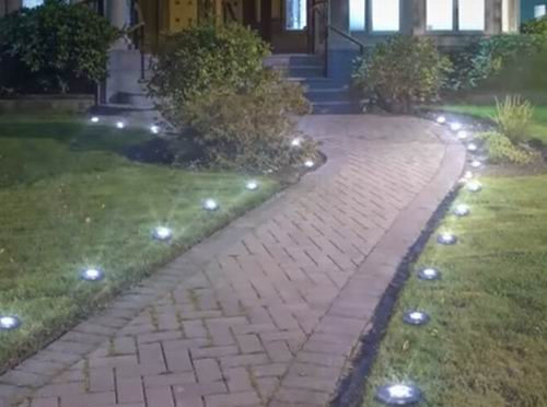can solar lights stay in winter