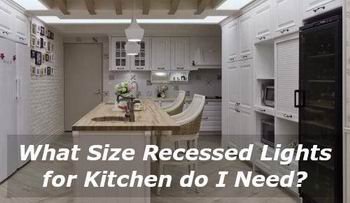 what-size-recessed-lights-kitchen