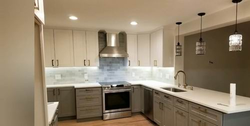How Far Should Recessed Lights Be From Cabinets Best