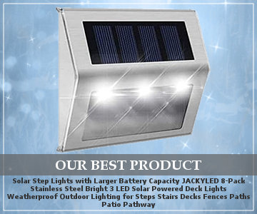 top solar step lights