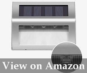solar deck stair lights