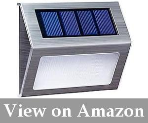 solar step deck lights