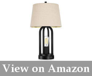 smart dimmable bedside table lamps