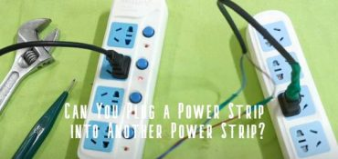 can you plug power strip into another power strip